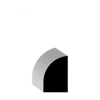 "WM126 Pine Solid Wood Base Shoe 1/2"" x 3/4"