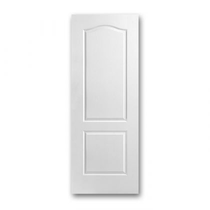 Craftwood Products - Interior Doors - Molded interior Doors - 2 Panel Arch-Top Interior Doors