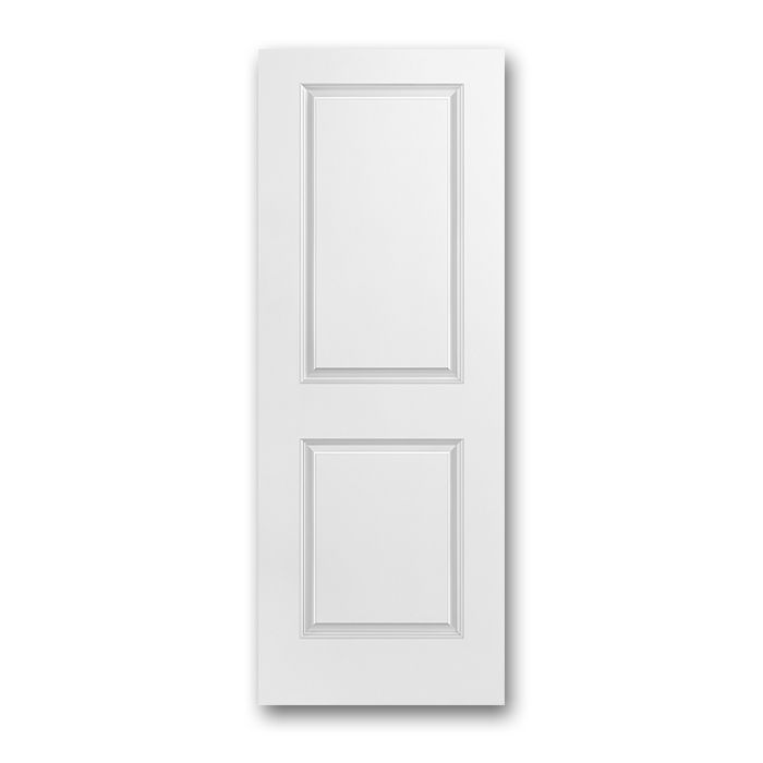 Craftwood Products - Interior Doors - Molded interior Doors - 2 Panel Square Interior Doors