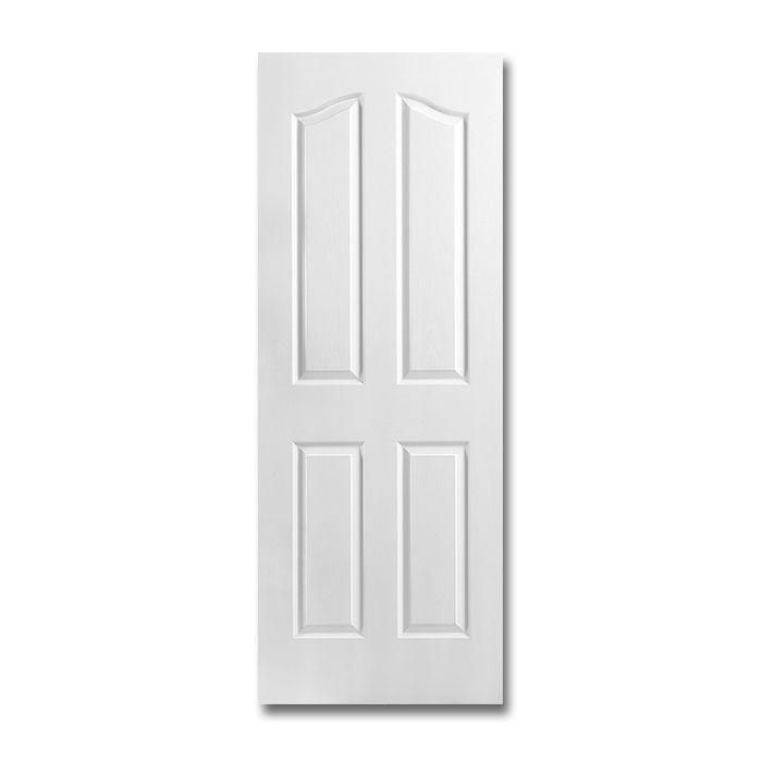 Craftwood Products   Interior Doors   Molded Interior Doors   4 Panel Arch Top  Interior