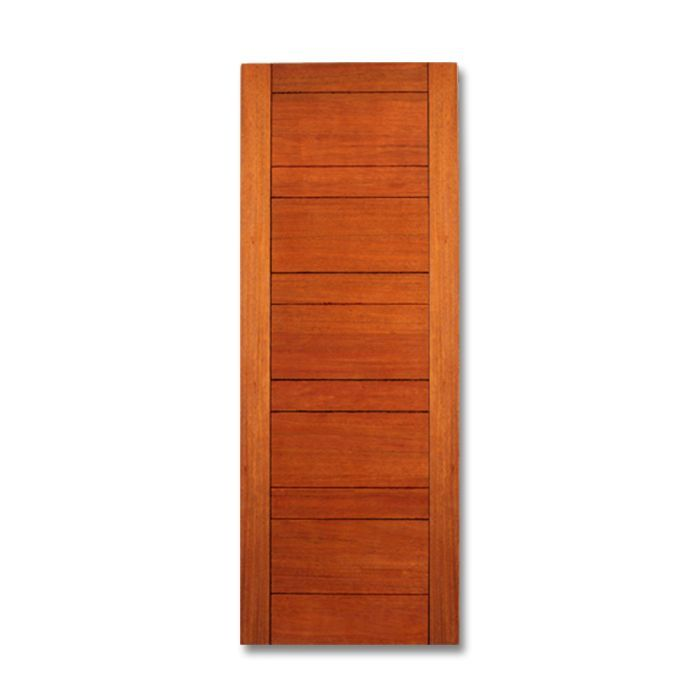 5 Lite Equal Flush Mahogany Interior Door Craftwood