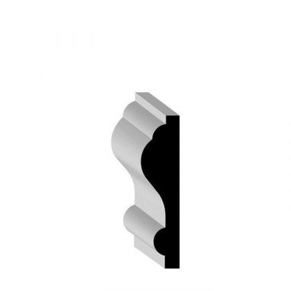 "87135 Pop Solid Wood Chair Rail 5/16"" x 1-15/64"""