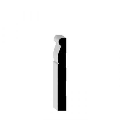 """87618 OAK Solid Wood Baseboard 1/2"""" x 4-1/4"""""""