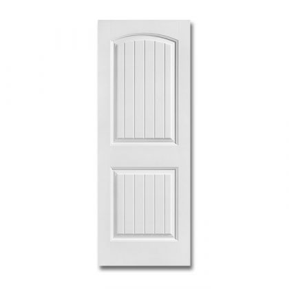 Craftwood Products - Interior Doors - Molded interior Doors - Cheyenne 2 Panel Camber Top Plank