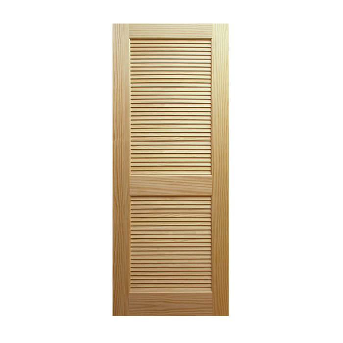 Louver over louver pine doors craftwood products for Prehung louvered interior doors
