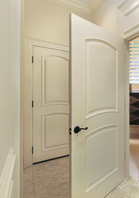 Bellagio U2013 2 Panel Arch Top With Raised Molding | Craftwood Products For  Builders And Designers In Chicago
