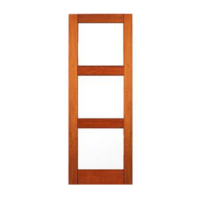 3 Lite Mate Glass Mahogany Interior Door Craftwood Products For