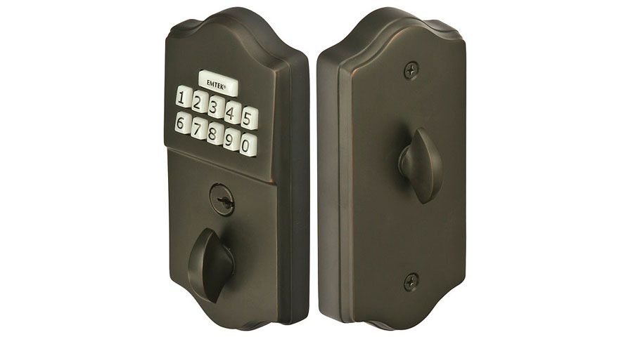 Brass Keypad Deadbolt Craftwood Products For Builders