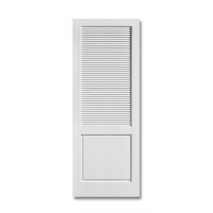MDF Louver over Panel Medium Density Fiberboard Door