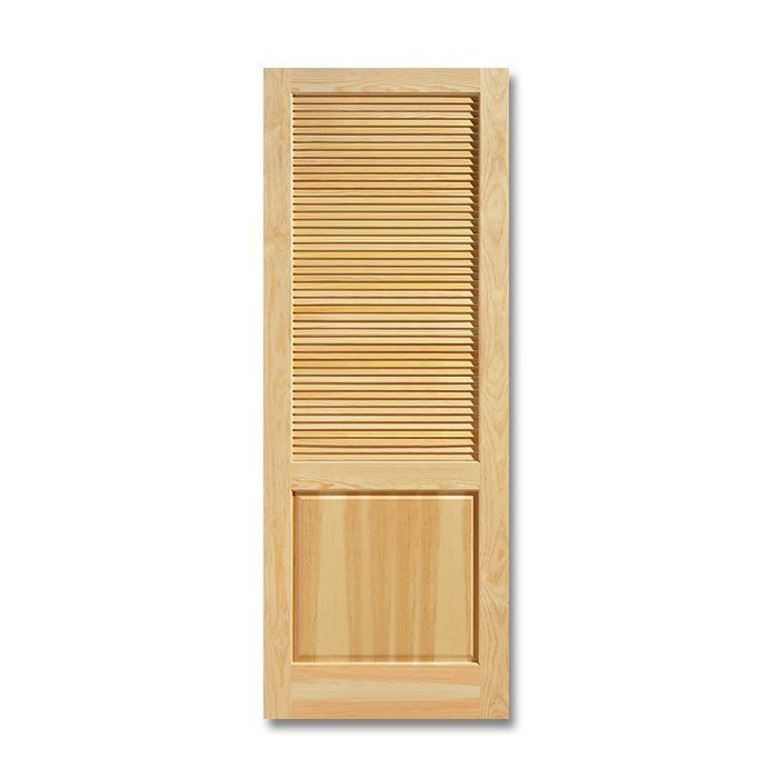 Masonite Wood Louver over Panel Clear Pine Door  sc 1 st  Craftwood Products for Builders and Designers in Chicago & Louver over Panel u2013 Pine Doors | Craftwood Products for Builders and ...
