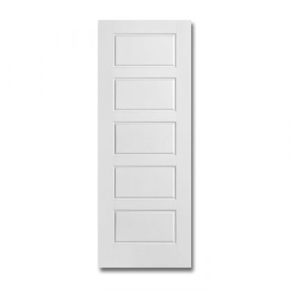 Craftwood Products - Interior Doors - Molded Interior Doors - Riverside 5 Panel Equal Smooth