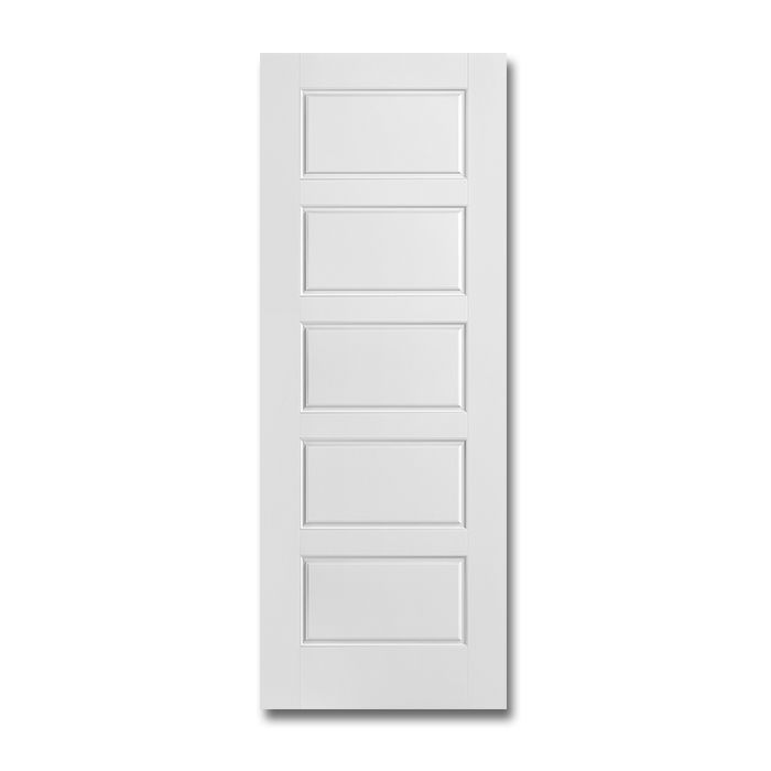 Craftwood Products Interior Doors Molded Riverside 5 Panel Equal Smooth