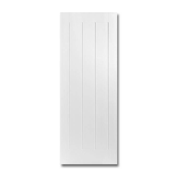 Craftwood Products - Interior Doors - Molded Interior Doors - Saddlebrook 1 Panel Plank Smooth