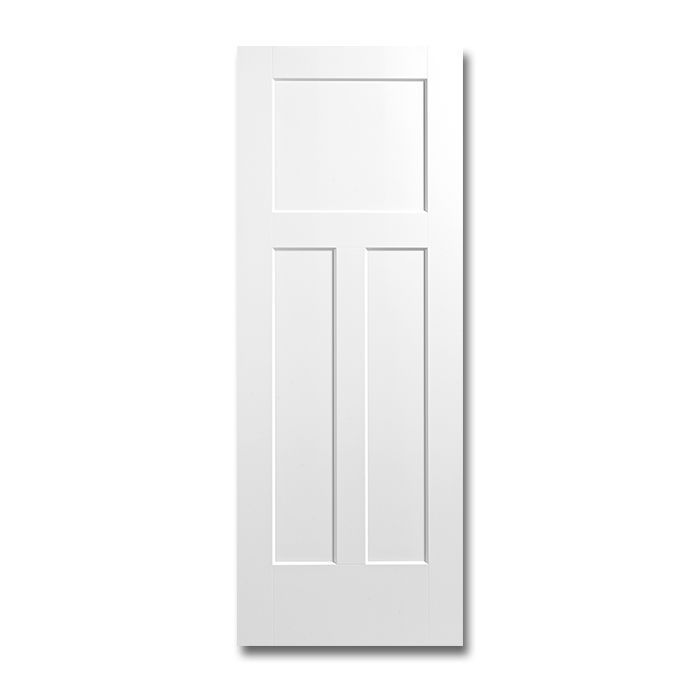 Craftwood Products - Interior Doors - Molded Interior Doors - 3 Panel Shaker Molded