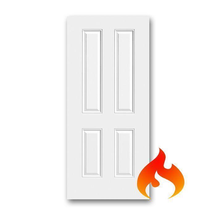Steel 4 Panel Fire Rated Doors
