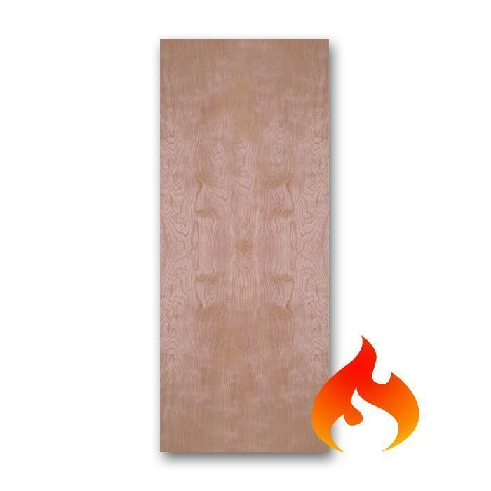 Birch Flush Fire Rated Doors Craftwood Products For