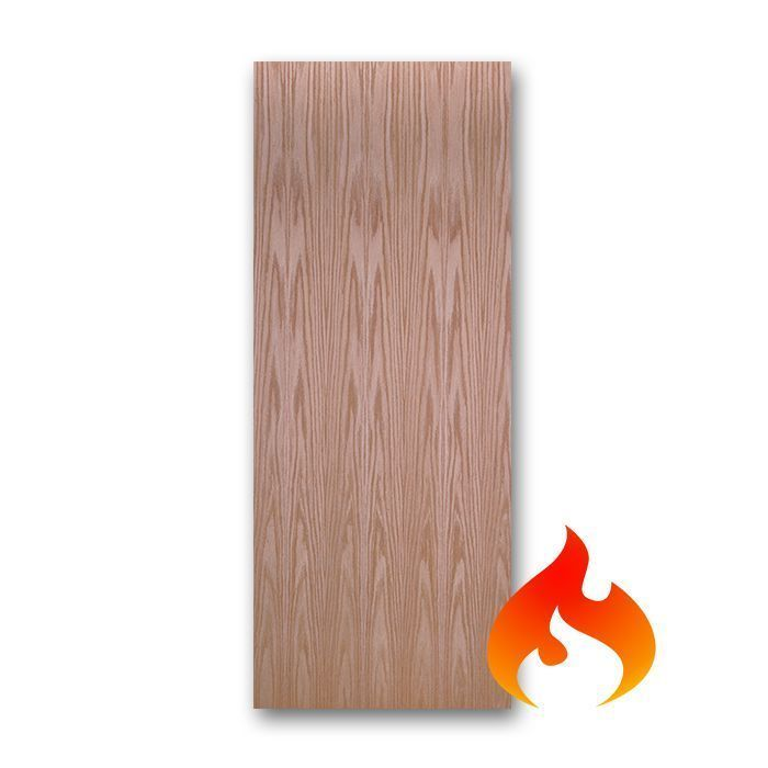 Oak Flush Fire Rated Doors Craftwood Products For