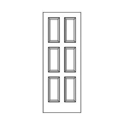 Craftwood Products - Interior Doors - MDF Premium Router Carved Doors - 5117 MDF Doors