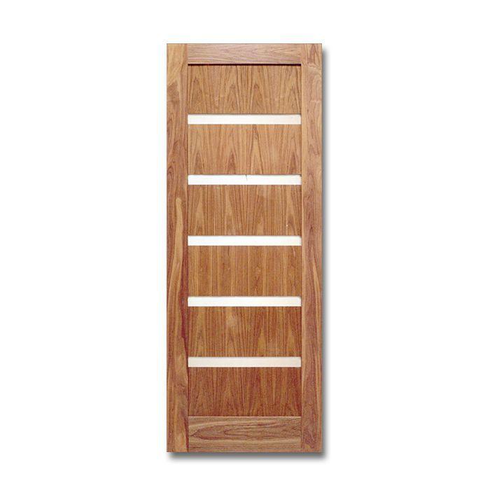 Merveilleux Craftwood Products   Interior Doors   Wood Interior Doors   Walnut Stock  Doors   Shaker Doors