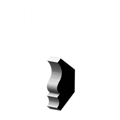 "CR68 OAK Solid Wood Crown 11/16"" x 3-1/4"""