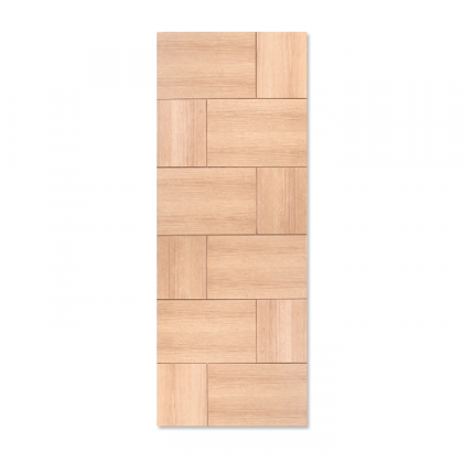 Craftwood Products - Interior Doors - Wood Interior Doors - Walnut Stock Doors - MD16 Modern with Grooves