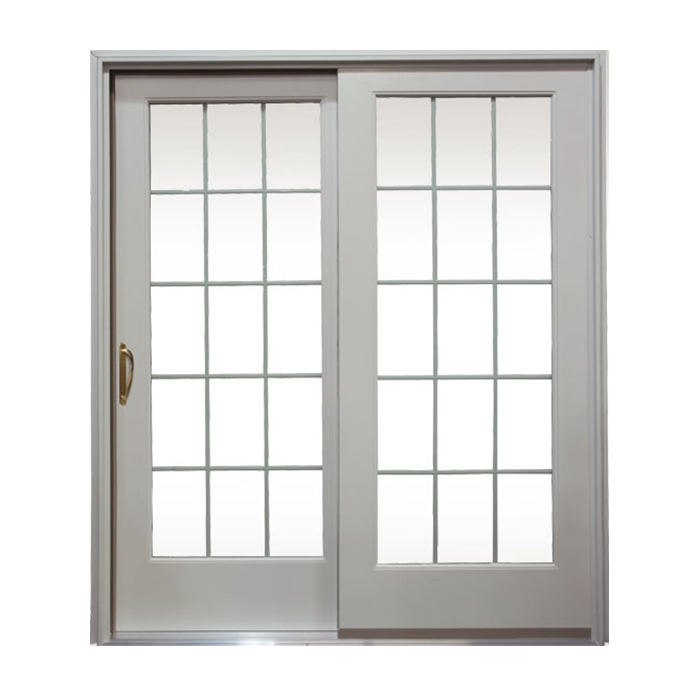 Clad doors 71 1 4 sc 1 st the home depot for Wood french patio doors