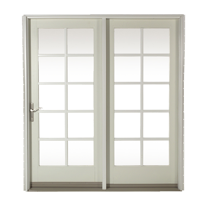 800 center hinged patio door craftwood products for for Center hinged patio doors