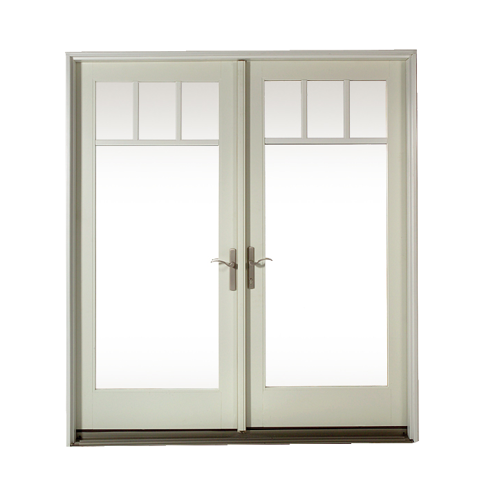 Construction doors fire doors sc 1 st craftsmen in wood for Wood french patio doors