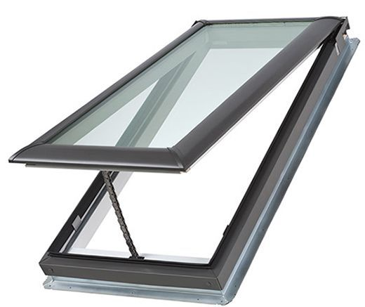 Manual fresh air skylights craftwood products for for How to clean velux skylights