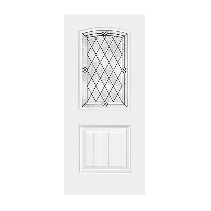 Craftwood Products - Exterior Doors - Fiberglass Doors - Masonite - HD Steel - HD Steel  sc 1 st  Craftwood Products for Builders and Designers in Chicago & HD Steel 107-1P with Alston Glass | Craftwood Products for Builders ...