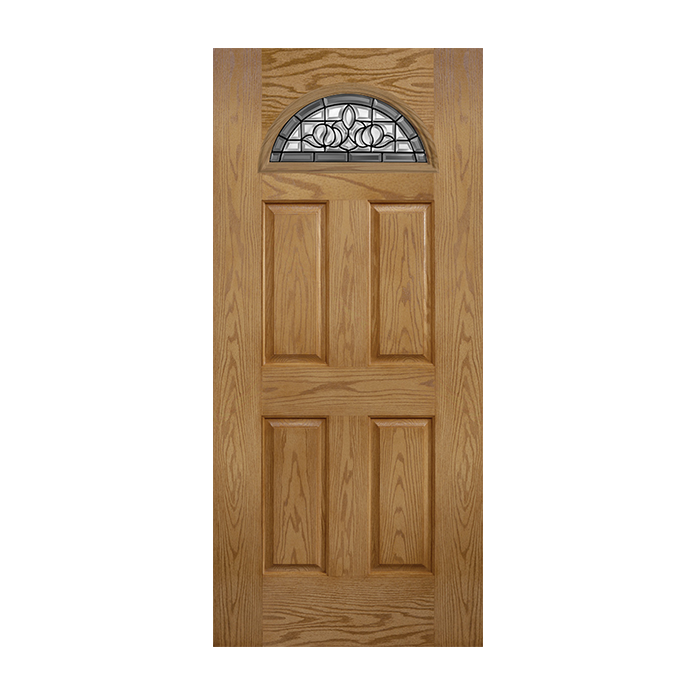 Oakcraft 135 4 With Madrid Glass Craftwood Products For