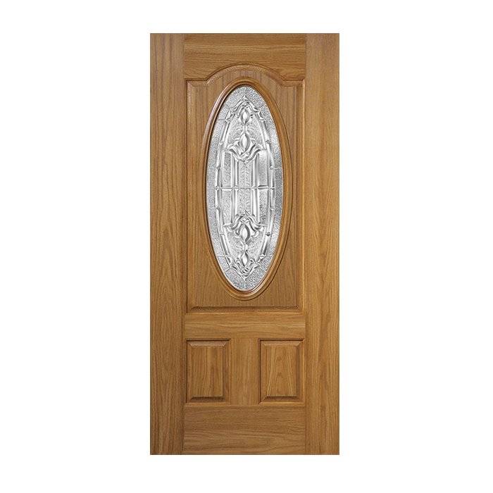 Fiberglass Doors Product : Oakcraft with marquise glass craftwood products