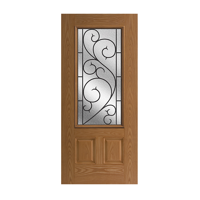 Oakcraft 404 2 With Tanglewood Glass Craftwood Products
