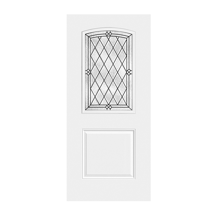 Belleville 107 1 with alston glass craftwood products for Belleville fiberglass doors