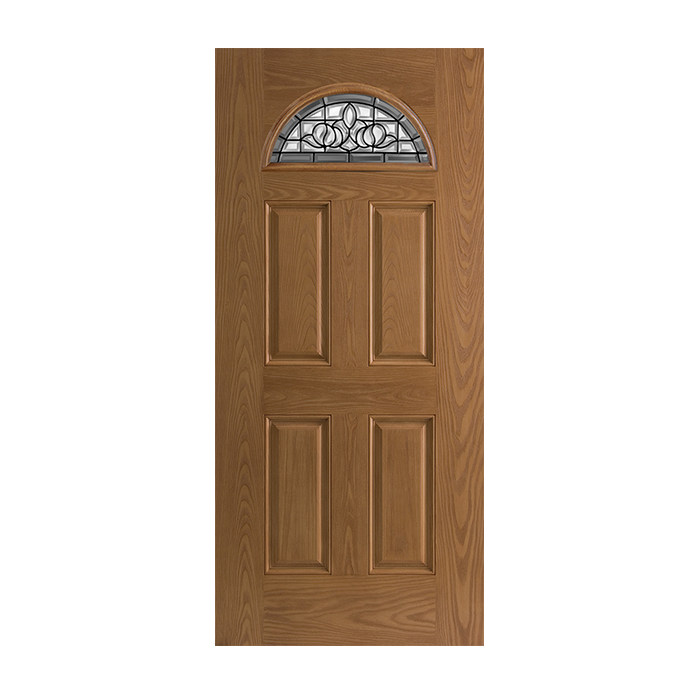 Belleville 135 4 with madrid glass craftwood products Belleville fiberglass doors