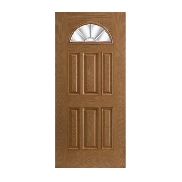 Belleville 135 6 with glace glass craftwood products for for Belleville fiberglass doors