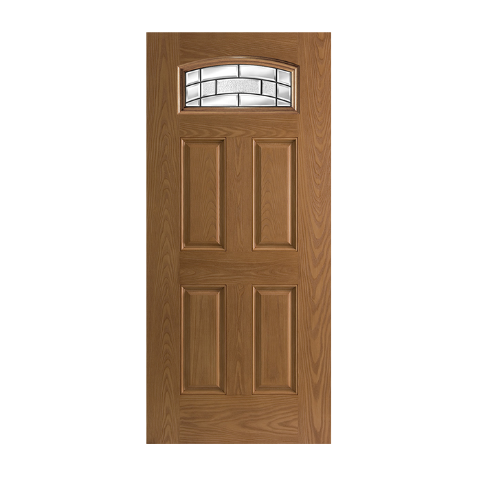 Belleville 137 4 with element glass craftwood products for Belleville fiberglass doors