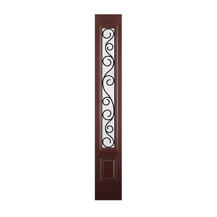 Belleville 151 1 with iron springs glass craftwood for Belleville fiberglass doors