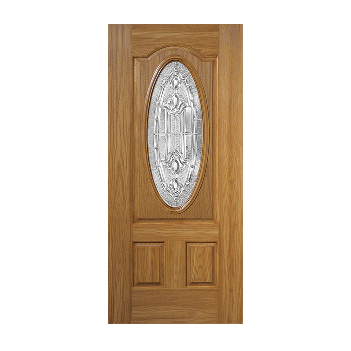 Belleville 304 3 with marquise glass craftwood products for Belleville fiberglass doors
