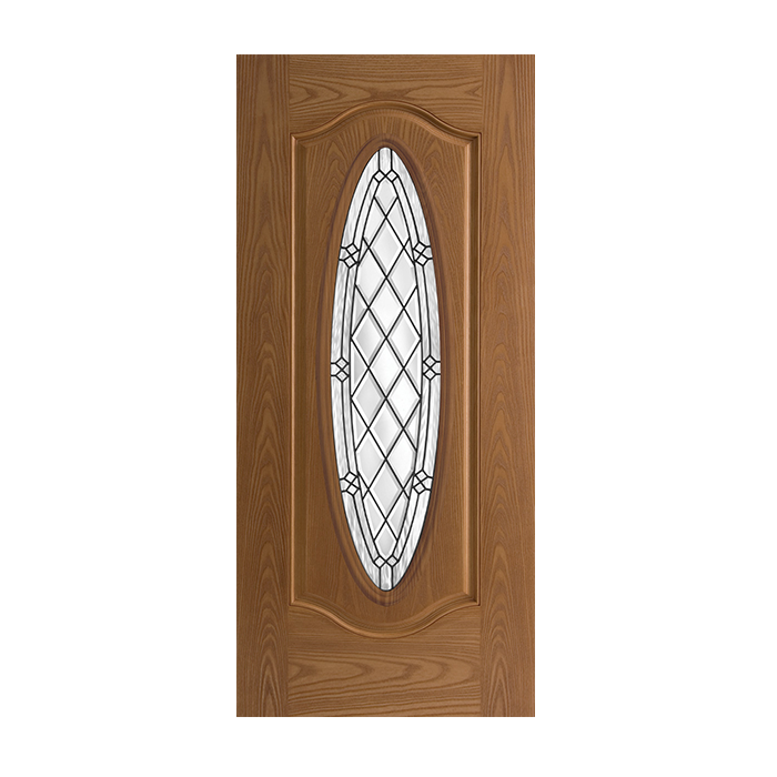 Belleville 306 1 with alston glass craftwood products for Belleville doors