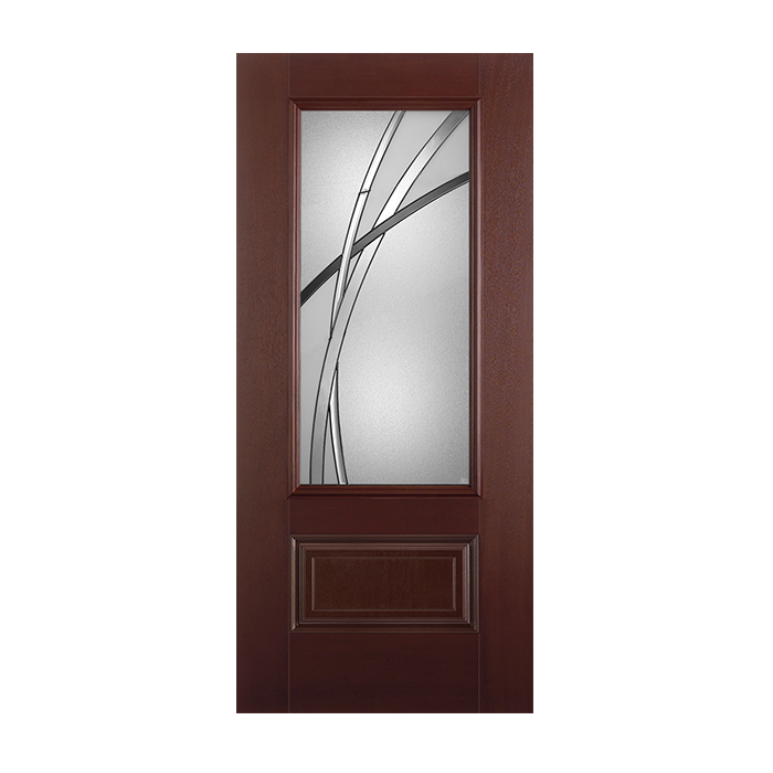 Belleville 404 1 with kordella glass craftwood products for Belleville fiberglass doors