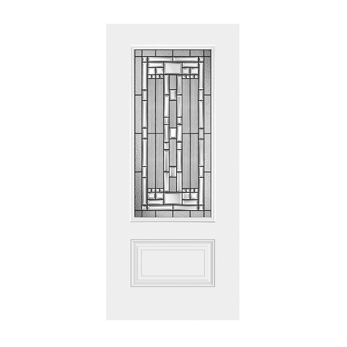 Belleville 404 1 with naples glass craftwood products for Belleville fiberglass doors