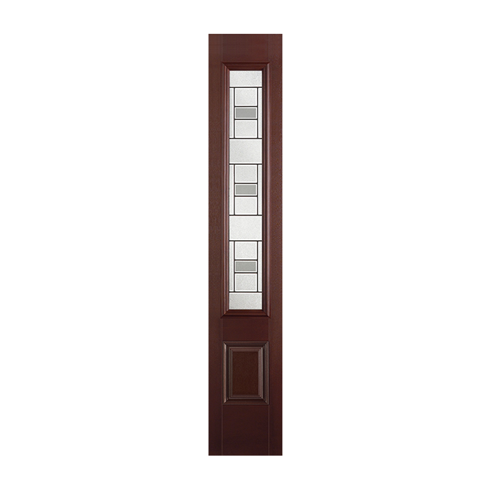 Belleville 450 1 with mondrian glass craftwood products for Belleville fiberglass doors