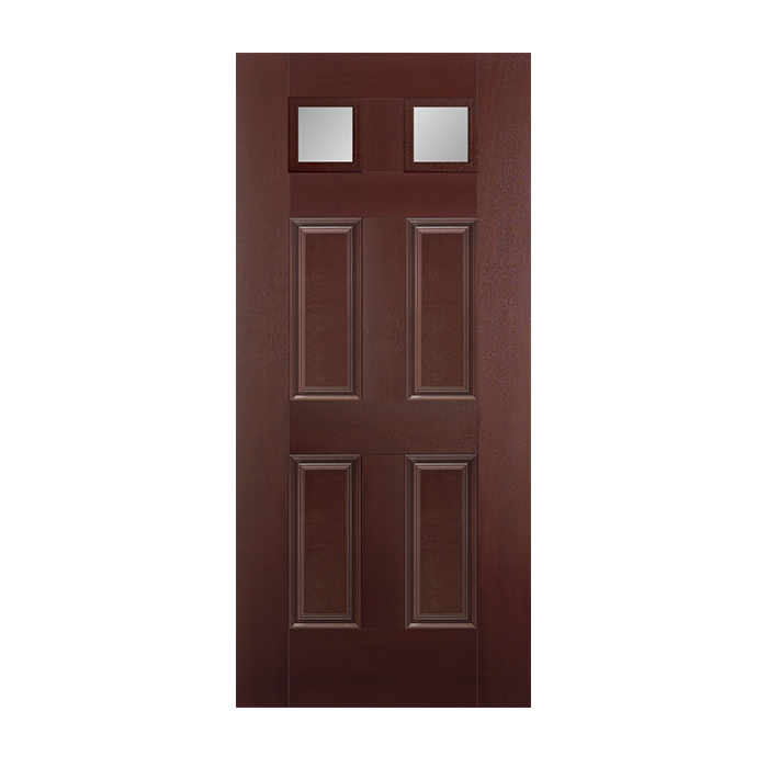 Belleville 682 4 with clear glass craftwood products for for Belleville fiberglass doors