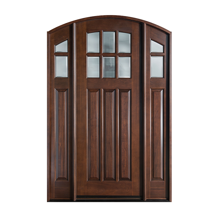 Cr 112a 2sl craftwood products for builders and for Wood french doors exterior