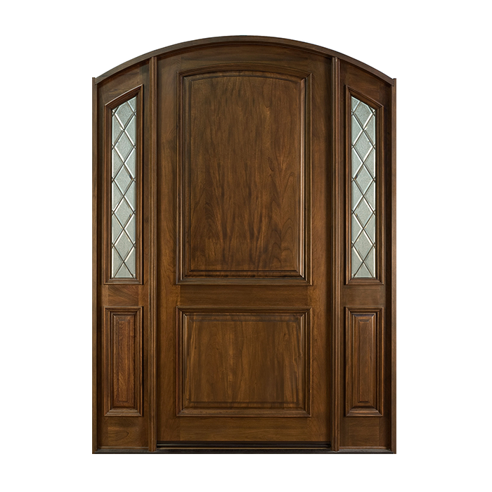 Cr 552wp 2sl craftwood products for builders and for Wood french front doors