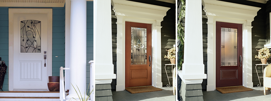Belleville 106 2 with tanglewood glass craftwood Belleville fiberglass doors
