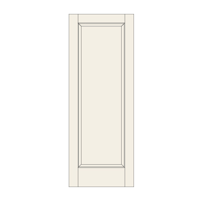 C11 One Panel Door Craftwood Products For Builders And