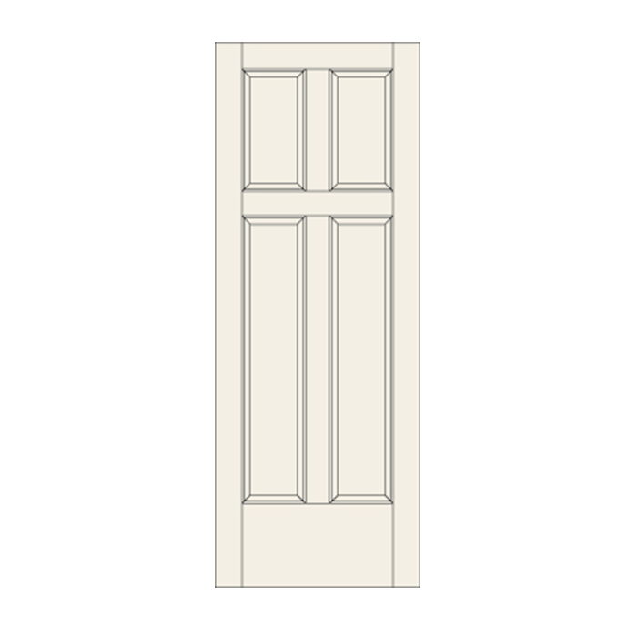 C422 Four Panel Door Craftwood Products For Builders And Designers