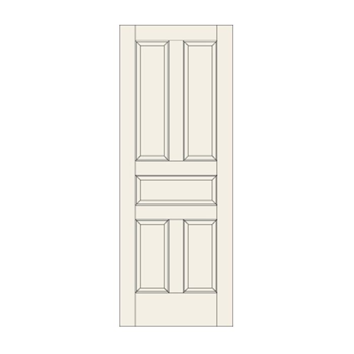 C51 Five Panel Door Craftwood Products For Builders And Designers